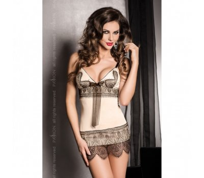 Кремовое платье Samara L/XL