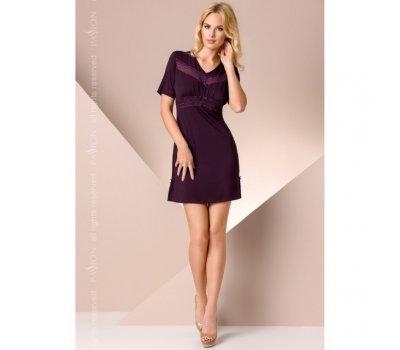 Ночная сорочка фиолетового цвета M