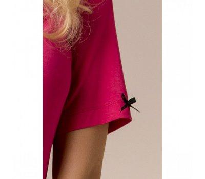 Красная ночная пижама M