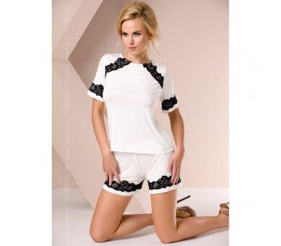 Белая ночная пижама M