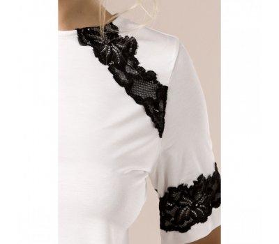 Белая ночная пижама L