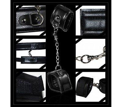 Набор Deluxe Bondage Kit (кляп, наручники, плеть)