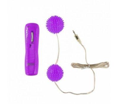 Вагинальные шарики фиолетовые с 7 функциями вибрации