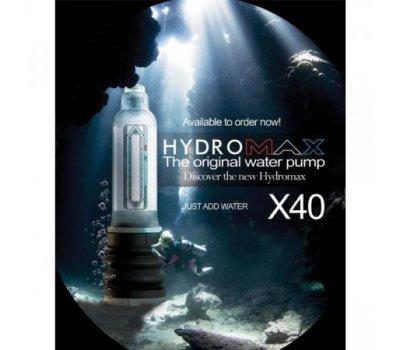 Гидропомпа Bathmate Hydromax X40, прозрачная