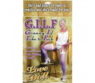 Кукла-бабушка для секса G.I.L.F. Doll