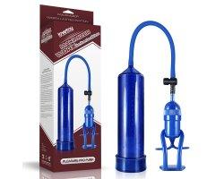 Вакуумная помпа Maximizer Worx Pleasure Pro Pump голубая 22 см, Ø 5,5 см
