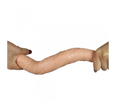 Двойной фаллоимитатор-реалистик Double Penetration Double Dildo 36,5 см, Ø 4,1-4,7