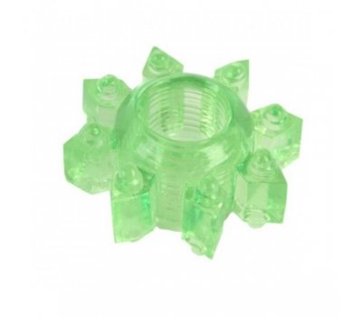 Тянущееся зеленое кольцо для эрекции Toyfa