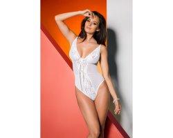 Элегантное белое боди Jovita L/XL