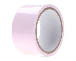Электростатическая лента для связывания «My Love» розовая, 15 м