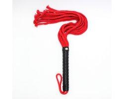 Красно-черная плеть из нейлона