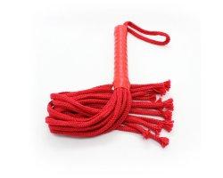 Красная плеть из нейлона 50 см