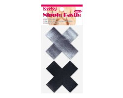 Набор дерзких пэстисов для груди в виде крестиков Cross Pattern Nipple Pasties