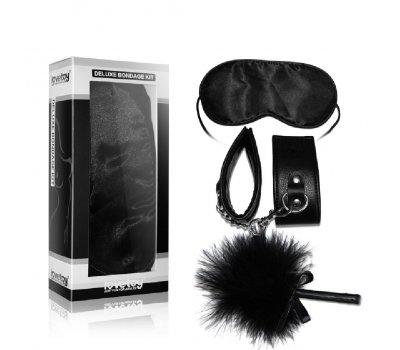 Набор Deluxe Bondage Kit ( наручники, тиклер, маска на глаза)