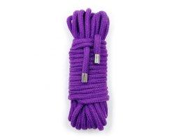 Хлопковая верёвка для бондажа пурпурная 5 метров