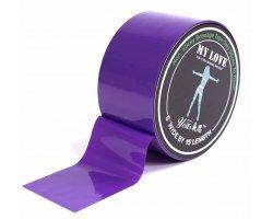 Электростатическая лента для связывания «My Love» фиолетовая, 15 м