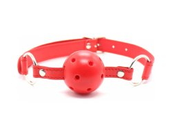 Красный кляп-шар, Ø 4,5 см