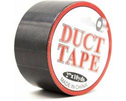 Лента для связывания «Duct Tape» черная, 15 м
