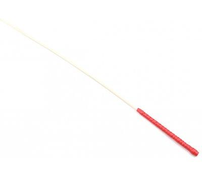 Стек из ротанга с красной ручкой, Ø 0,6 см