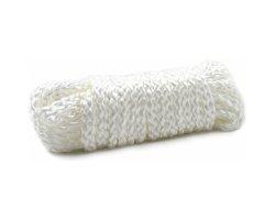 Бондажная белая нейлоновая верёвка 5 метров