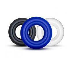 Набор из трех цветных колец, Ø 1,5 см