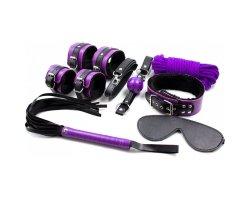 Черно-фиолетовый набор из семи предметов