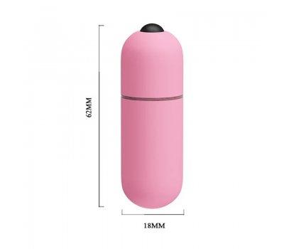 Вибропуля Mini Vibe розовая с 10 функциями вибрации