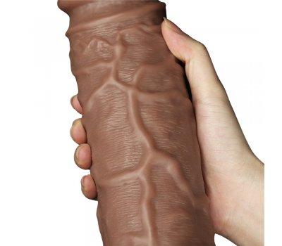Фаллоимитатор реалистичый с присоской Chubby Dildo 26,6 см, Ø 6,3 см