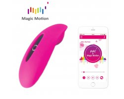 Вибростимулятор Magic Motion «Candy» с управлением через смартфон, розовый, 8 см