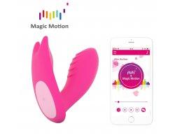 Вибростимулятор Magic Motion «Eidolon» с управлением через смартфон, розовый