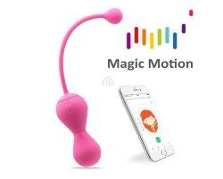 Тренажер Кегеля Magic Motion «Kegel Master» версия 2.0 с управлением через смартфон, розовый, Ø 3,5 см