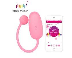Тренажер Кегеля Magic Motion «Kegel Coach» с управлением через смартфон, розовый, Ø 3 см