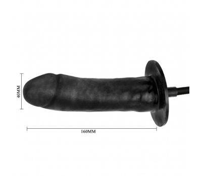 Вибратор расширяющийся с автоматической накачкой, 16 см, Ø 4 см