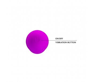 Вибратор фиолетовый 10 функций вибрации
