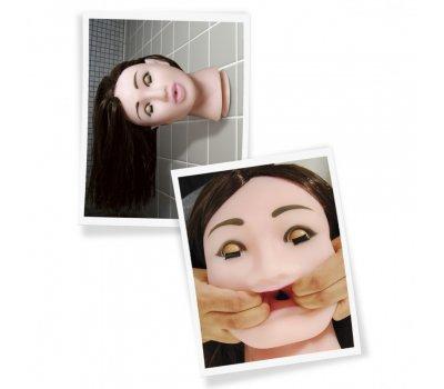 Мастурбатор в виде головы брюнетки PDX Fuck My Face Brunette