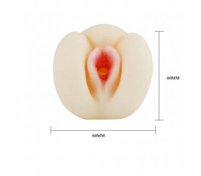 Мастурбатор-вагина 3D pink