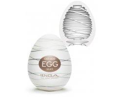 Мастурбатор яйцо Tenga EGG «SILKY»
