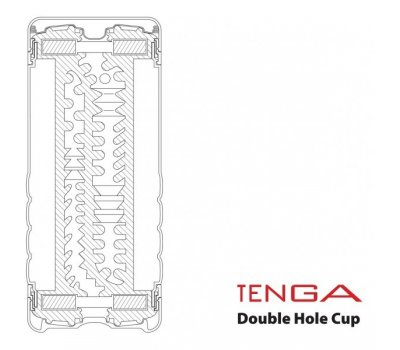 Мастурбатор Tenga Double Hole