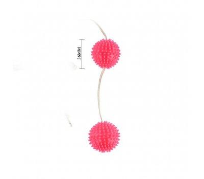 Вагинальные шарики с 7 функциями вибрации розовые