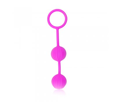 Розовые вагинальные шарики Ø 3 см